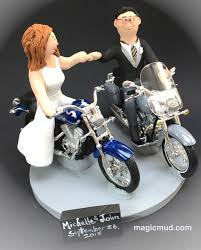 harley davidson cake toppers and groom harley davidson motorcycles wedding cake