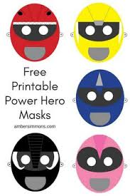free power ranger dino charge birthday party cupcake toppers