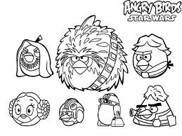 angry birds star wars characters coloring pages batch coloring