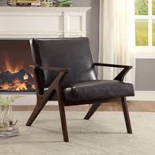 Brown Accent Chair Beso Accent Chair In Brown Accent Chairs Accent Seating Products