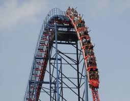 Six Flags Roller Coasters List Superman The Ride Six Flags New England Coastercritic