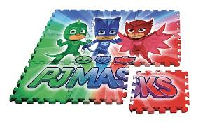 tappeto puzzle disney pj masks pigiamini tappetino puzzle giocattoli shop