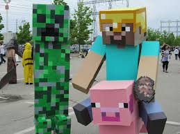 Mob Costumes Halloween Minecraft Halloween Costumes