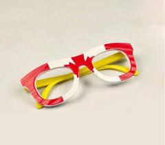 australia british canada france usa flags eyeglasses frames