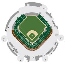 Miller Park Seating Map Tropicana Field Map Tampa Bay Rays