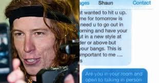 Shaun White Meme - shaun white s disturbing history of sexual harassment resurfaces