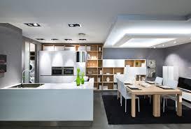 cuisine ouverte sur salle à manger cuisine ouverte style hiving emk construction