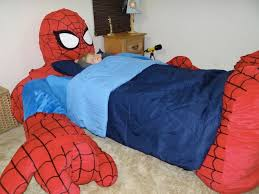 spiderman bedding blue red decor crave