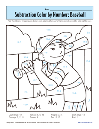 1st grade addition subtraction worksheets subtraction color