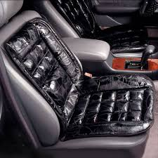 leather lumbar cushion for car lumbar cushion walter drake