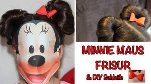 Frisuren Anleitung Schleife by Süße Kinderfrisur Minnie Maus Ohren Mit Schleife