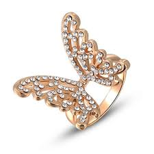 classic crystal ring holder images Buy rose gold ring filled with cz classic jpg