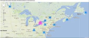 map of east canada map of east canada major tourist attractions maps