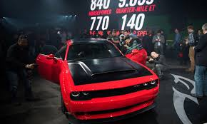 Dodge Challenger Modified - fca pumps up performance cred with dodge demon jeep grand