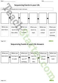 sequencing life events worksheet teaching resource u2013 teach starter