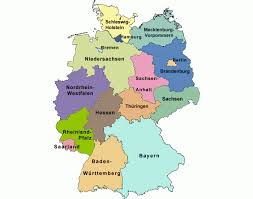 map of germany with states and capitals capitals of german states purposegames