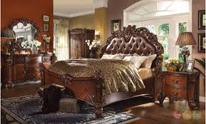 California King Sleigh Bed Acme 21994ck Vendome 4pcs Cherry California King Sleigh Bedroom