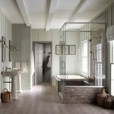 kohler bancroft bathroom farmhouse with books brushed chrome
