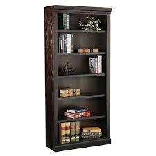 Espresso Bookcase With Doors Espresso Bookcase 32 X 84 Jc3284 Kurio King Afw