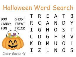 c halloween words u2013 october halloween calendar