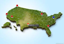 Us Map Images 3d Maps 3d Custom Interactive Map
