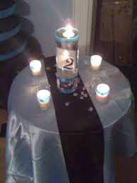 Black And Silver Centerpieces by 53 Best Black White U0026 Blue Wedding Images On Pinterest Marriage