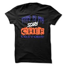 halloween chef this is my scary chef costume halloween t shirt halloween t