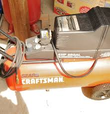 sears craftsman 4 hp air compressor ebth