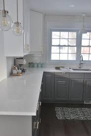 quartz kitchen countertop ideas best 25 white quartz countertops ideas on white