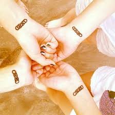 cool matching infinity tattoo for best friends tattooshunter com