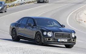 bentley flying spur 2017 2019 bentley flying spur spied testing its new platform