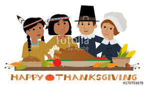 happy thanksgiving pilgrim thanksgiving sign with pilgrims and