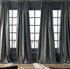 Heavy Grey Curtains Image Result For Charcoal Silk Curtains For Living Room Silver