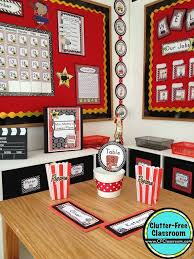 Classroom Theme Decor Hollywood Themed Classroom Ideas U0026 Printable Classroom