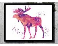 Christmas Moose Home Decor Deer