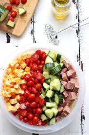 perfect pasta salad love grows wild