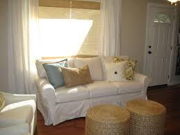 Canvas Sofa Slipcover Iron U0026 Twine Living Room