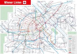 map of vienna vienna transport map