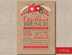 christmas brunch invitations invitation to christmas brunch for christmas