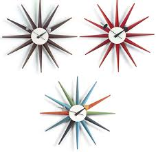 Herman Miller Clock Vitra George Nelson Clock Sunburst Modern Planet