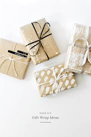 gift wrap four diy gift wrap ideas almost makes