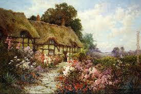 alfred de breanski hathaway s cottage painting anysize 50