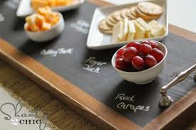 chalkboard cheese plate how to make a chalkboard serving tray shanty 2 chic