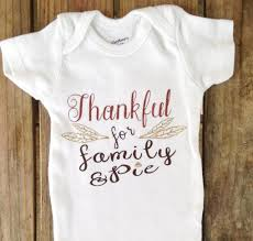 thankful baby onesie thanksgiving onesie boy or onesie
