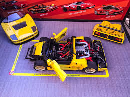 toy ferrari model cars ferrari f40 barchetta lm ferrari models 1 18 pinterest