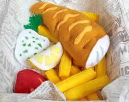 jeux de cuisine fast food ensemble de nourriture jouer feutre feutre alimentaire fish and