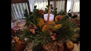 how to make your own holiday citrus potpourri centerpiece youtube