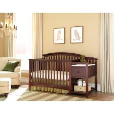 Storkcraft Portofino Convertible Crib And Changer Combo Espresso by Imagio Baby Montville 4 In 1 Fixed Side Crib And Changing Table