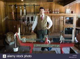 1900 doon heritage village mennonite dry good store grocery store