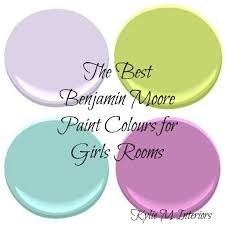 Good Colors For The Bedroom - the best benjamin moore paint colours for a girls room benjamin